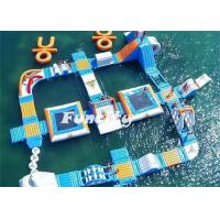 Theme Water Inflatable Amusement Parks Aqua Park Slides 7 - 10 Years Lifespan Manufactures