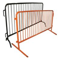 Easy Installation Metal Fence Accessories Temporary Construction Guardrails Manufactures