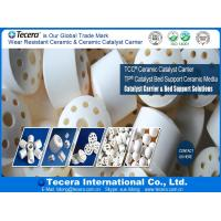 China High quality Inert Alumina ceramic packing ball & Ceramic Rasching Ring /Inert Ceramic Catalyst Support on sale