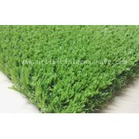 None Infill Artificial Grass For Soccer Field With High Dtex Slit Film Manufactures
