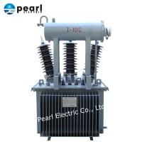 China 33kV 50kVA Electric Power Transformer With Oil Tank Fully Sealed Type on sale