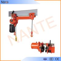 Heavy Load 5 Ton / 10 Ton Manual Chain Hoist Lifting Equipment 24v - 48v Manufactures