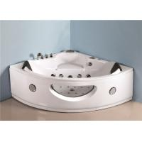 Luxury sector shape corner 2 person jet bathtub over the tub whirlpool massage bath tub with jets Manufactures
