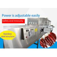 Microwave Tunnel Dryer Pepper Chili Dryer PLC Touch Manufactures