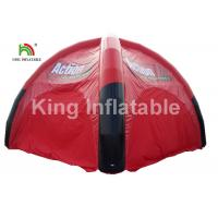 Buy cheap Airtight Black And Red Inflatable Event Tent For Advertising / Exhibition / from wholesalers