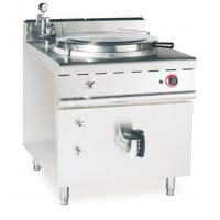 JUSTA Gas Indirect Jacketed Boiling Pan Commercial Kitchen Equipments , Soup Cooker Machine Manufactures