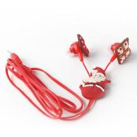 Selling pvc,silicone rubber material high quality mp3 ear earphone promotional gifts Manufactures