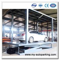 Scissor Type Pit Lifter Double Deck 2 Level Parking Lift / Multipark/ Automated Parking System/Car Stacker Manufactures