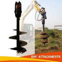 KA6000 Digging Hole Machine hydraulic earth drill For Excavator Used Manufactures