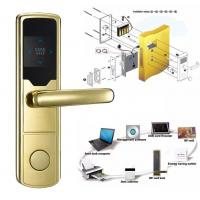 High Security Software Management System RF Hotel Door Lock Electronic Door Latches Manufactures