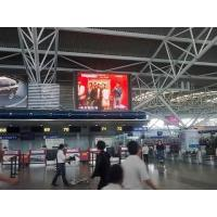 China 128*128mm electronic full color indoor led display sign SMD with 1/8 scan drive on sale