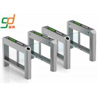 Outdoor IP32 Swing Barrier Gate / swing turnstile gate for university Manufactures