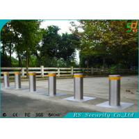 Remote Control Driveway Security Posts Retractable Security Bollards Manufactures