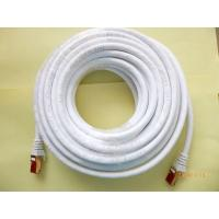 8 10M CAT6 FTP Professional Gold Headed Shielded Network Cable -High Speed 500MHz Cat6 / Manufactures