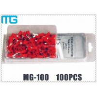 Colorful Customized Terminal Assortment Kit MG-100 1 / 2 Types SV RV HV Terminals 100pcs Manufactures
