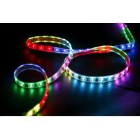 Flexible SMD 3528 RGB color changing led light strip with remote High brightness 2000 mcd Manufactures