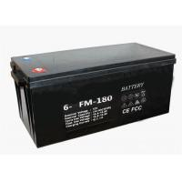 Lightweight 12V 180Ah Battery VRLA Deep Cycling Gel Type With M8 Terminal Manufactures
