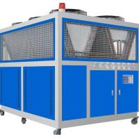 Hermetic Scroll Compressor Air Cooled Water Chillers With 20R - 350RT Cooling Capacity Manufactures