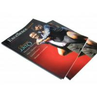 Quality 210 * 285mm 4p, 250gsm matt art paper Printing Trade Magazines journals impressions for sale
