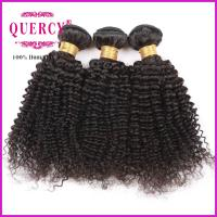 8A 100% Unprocessed Virgin Remy Kinky Curl Brazilian Human Hair weave Manufactures