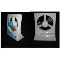Aluminum small portable usb led messages fan with logo printing for PC and PDA Manufactures