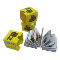 OEM Glossy Lamination Digital Kids / Childrens Book Printing Services with glue binding Manufactures