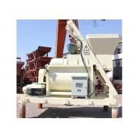 Large Capacity 1m3 Concrete Mixer Machine Double Shaft With Lifter 8700kg Total Weight Manufactures