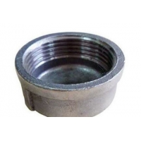 Forged Threaded Pipe Cap Carbon Steel Pipe Fittings Manufactures