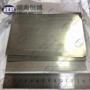 Magnesium Metal Foil Magnesium Alloy Sheet Size  0.1 X 100 X 150 Mm / Pc Manufactures