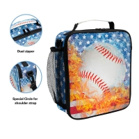 Stain Resistant Zippered Children'S Insulated Lunch Bags Manufactures