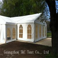 Easy Assembled Large Party Tents With Decoration Inside For Holding 200 People Manufactures