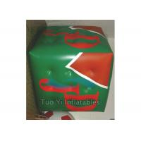 Quality Huge Helium 3D Cube Balloon Promotional Sky Advertising balloons for sale