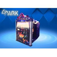 Amusement Gun Arcade 4d Alien Swarm Infrared Shooting Game Machine for Couples Manufactures