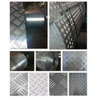 Quality Fireproof 5 Bar Aluminum Tread Plate , Aluminum Diamond Plate Wall Panels  for sale