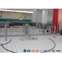 Low Noise Electric Swing Gates Stainless Steel Entrance For Motorcar Control Manufactures
