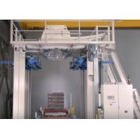 Quality Cold Stretch Film Wrapping Machine Top Hooding Vacuum / Mechanical Film Opening for sale