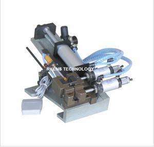 China Pneumatic Wire Stripping Machine Semi - Automatic Wire Processing Machine on sale