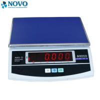 Quality Table Top Accurate Digital Scale Square Electronic Platform Low Battery Indicator for sale