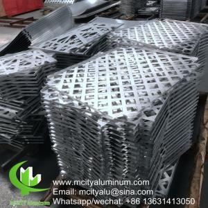 China supplier Customized Aluminum Panel , Aluminum Interior Panels Wall Cladding Manufactures