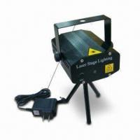 Laser Stage Light, Comes in 50mW Firefly Twinkling Green and 100mW Red Light Manufactures