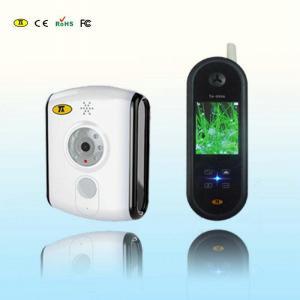 China Handheld Digital Wireless Video Doorphone / Doorintercom With CMOS Camera Black on sale