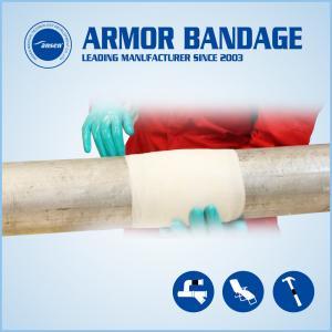 Pipe fix knit Underground pipe repair Pipe repair bandage Pipe repair armored wrap tape Manufactures