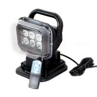 Auto LED Search Light Remote Control Style 2400 Lumen IP 67 Waterproof Manufactures