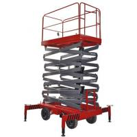 500Kg Loading Capacity Hydraulic Mobile Scissor Lift with 6 Meters Platform Height Manufactures