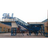 Small Scale Building Mobile Concrete Batching Plant OEM / ODM Available Manufactures
