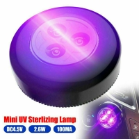 China Hot sale mini motion sensor portable uv ultraviolet light for travel home office (black) on sale