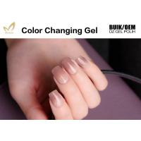 Eco - Friendly Mood Changing Gel Nail Polish Acrylic Resin Ingredients Manufactures