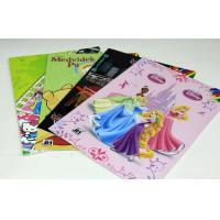 Colorful UV Children Story Coloring Book Printing Service With Art Paper Manufactures