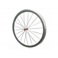 Quality Aluminum Bicycle Wheels With Alloy Brake , Road Bike Deep Section Carbon Wheels for sale