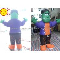 Cosplay Green Man Inflatable Shrek Costume Mobile Cartoon Character Manufactures